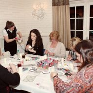 How To Throw A Crafting Party Just for the Adults