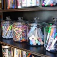 Create an Organized Craft Center for Your Kids