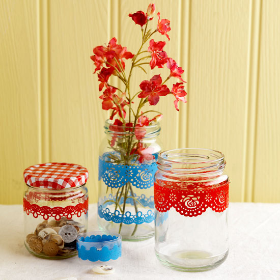 One of the best uses for old jam jars!